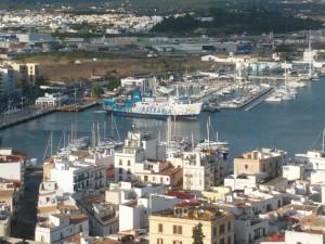Imagen del puerto de Vila.