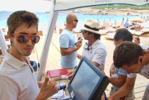 Imagen del Cala Bassa Beach Club. Foto: Facebook