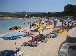 A pesar de lo temprano que ha caído este año la Semana Santa, Eivissa es uno de los destinos más solicitado por los turistas. Foto: Wikipedia