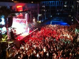 Actuación de Kasabian en el Ibiza Rocks 2012. Foto: D.V.