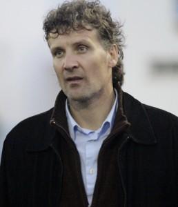 Luis Elcacho, entrenador del Formentera. Foto: Fútbol Pitiuso