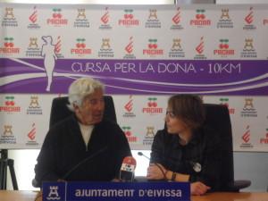 Ricardo Urgell y Mar Sánchez, en la presentación de la prueba