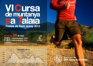 Imagen del cartel de la prueba de montaña de Sant Josep