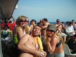 Viaje de Erasmus a Eivissa. Foto: Facebook ESN Ibiza Trip.