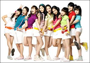 'Girl's generation', el grupo más exitoso del K-Pop surcoreano, las archienemigas del Juche Pop.
