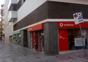 Tienda de Vodafone en la Avenida España