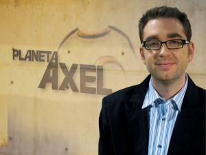 Àxel Torres, al frente de su programa.