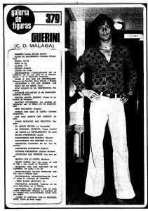Guerini, en plan rey del modelaje en las revistas del corazón.