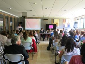 Imagen de una de las charlas desarrolladas en Sa Residencia. Foto: Grupo Vilás.