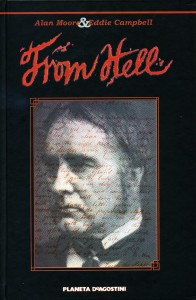 Portada de la edición recopilatoria en castellano de From Hell.