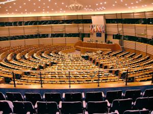 Imagen del Parlamento Europeo en Bruselas. Foto: Wikipedia.