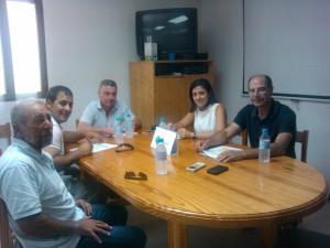 Un momento de la reunión celebrada en la sede de la Pime