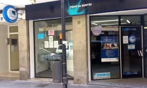 Aquestes noves oficines d'atenció al client estan situades al número 11 del carrer Aragó.