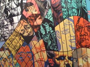 A la imatge, una obra d'Erró, un artista postmodern nascut a Islandia pero resident a Formentera des de 1958.