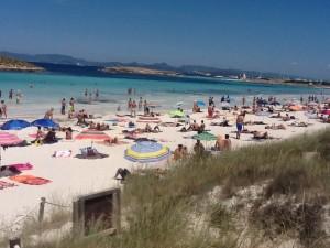 Los viajeros que escogen Formentera como destino optan cada vez más por este tipo de alquileres, que el Consell regulará en su próxima sesión plenaria.  Foto: PyP