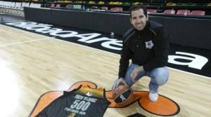 Paco Vázquez superó la barrera de los 500 partidos en ACB con el Iurbentia Bilabo Basket.