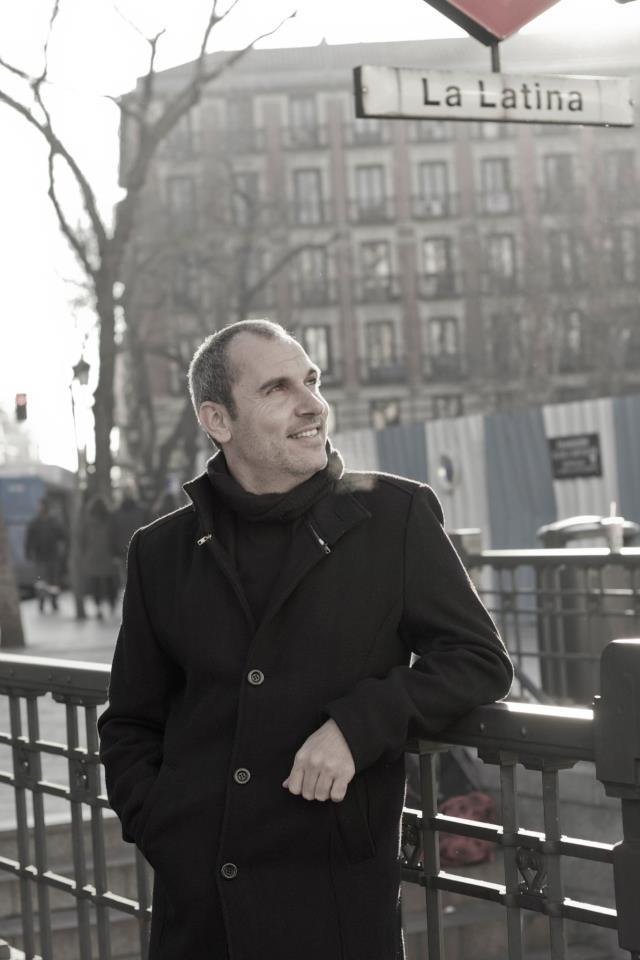 David Marqués, en su exbarrio de La Latina. Foto: Fátima Sanz.