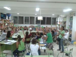Imagen de una reunión de la FAPA de Eivissa.