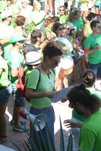Protesta dels professors a Sant Josep