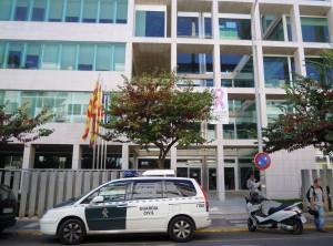 Fachada del edificio del Consell d'Eivissa. Foto: V. Ribas