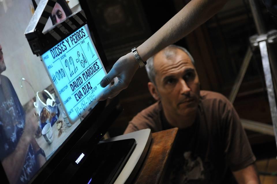El ibicenco David Marqués, zambullido de lleno en 'Dioses y perros'. Foto: Nadie Es Perfecto.