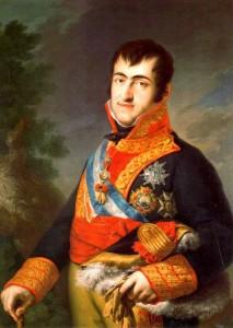 Fernando VII, el deseado. Un patriota ejemplar.