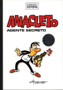 Imagen clásica del personaje en un volumen recopilatorio de Ediciones B publicado en 2009.