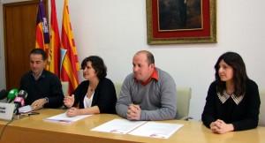Un moment de la presentació del programa de festes de la Diada de Balears.