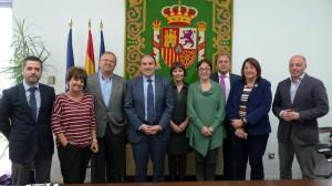La Comisión de Educación y Cultura del Grupo de Ciudades Patrimonio de la Humanidad de España, en la que participa la concejala ibicenca Lina Sansano.