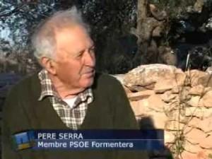 Pere Serra Colomar, Pere 'Gallet', en una entrevista concedida a la TEF. Foto: Youtube.