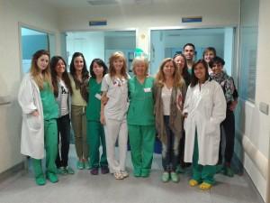 Parte del equipo de matronas de Eivissa. Foto: Àrea de Salut.