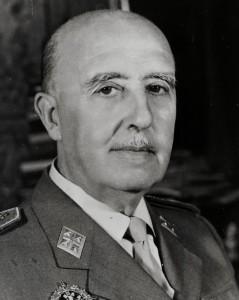 """Francisco Franco, el personaje al que Elcacho le gustaría conocer """"para hacerle algunas preguntillas""""."""