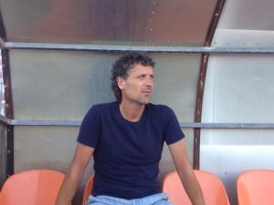 Luis Elcacho, entrenador de la S. D. Formentera.