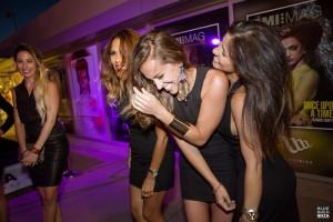 Las mujeres son las estrellas de la fiesta. Foto: Blue Marlin.