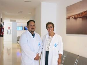 En la imagen, los dos especialistas, los doctores Danilo Escobar y Silvia Martínez.