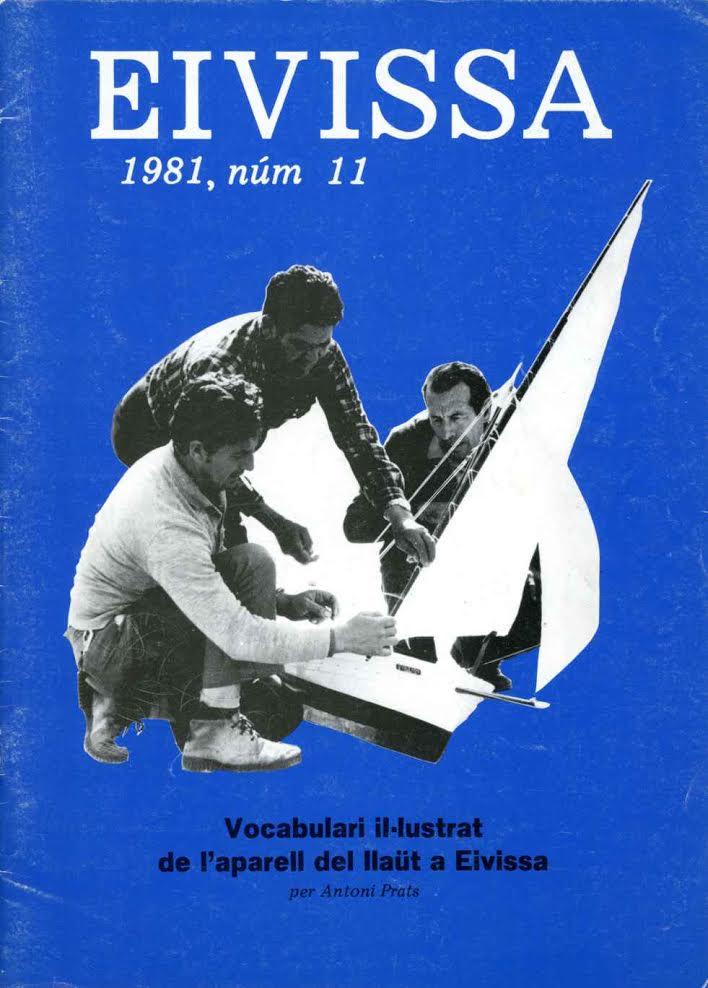 Portada de la revista on apareix l'article d'Antoni Prats Calbet sobre l'aparell tradicional dels llaüts.