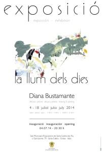 A la imatge, el cartell de l'exposició que estarà oberta al públic del 4 al 18 de juliol.