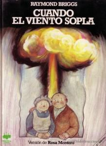 La entrañable pareja protagonista, impasible ante la hecatombe nuclear en la portada de la edición en castellano de 'Cuando el viento sopla'