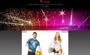Una captura de la renovada tienda online del Ushuaïa Ibiza Beach Hotel.