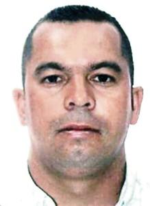 Una imagen de la víctima, José Julián del Río Cardona, conocido como Carlos el Colombiano.