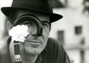 En la imagen, el poeta Julio Herranz. Foto: Pepe Tauste