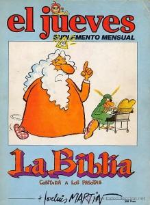 Portada del suplemento mensual de la revista El Jueves publicado en 1980.