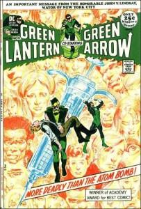 Portada correspondiente a  2ª entrega de la saga, Green Lantern & Green Arrow numº 86.