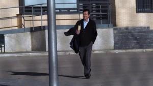 Jaume Matas sortint de la presó. Foto: Ara Balears