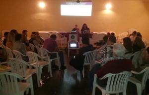 Un momento de la tensa reunión de Podemos Ibiza