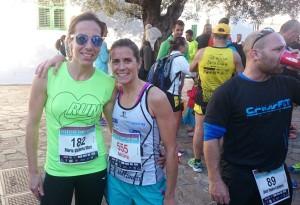 María Victoria Marí y Sabi Corral, las dos vencedoras en categoría femenina.