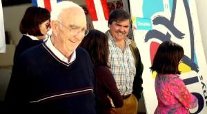 Imagen de Julián Vilás en el Club Náutico de Ibiza. Foto: Fundación Julián Vilás