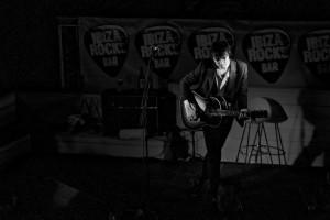 Imagen del concierto que ofreció Pete Doherty en Ibiza Rocks.
