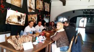 Una imagen de la presentación este sábado de la asociación RqueR Adoptando en Ibiza.