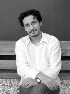 El escritor Álex Chico. Foto: Javiera Gaete Fontirroig